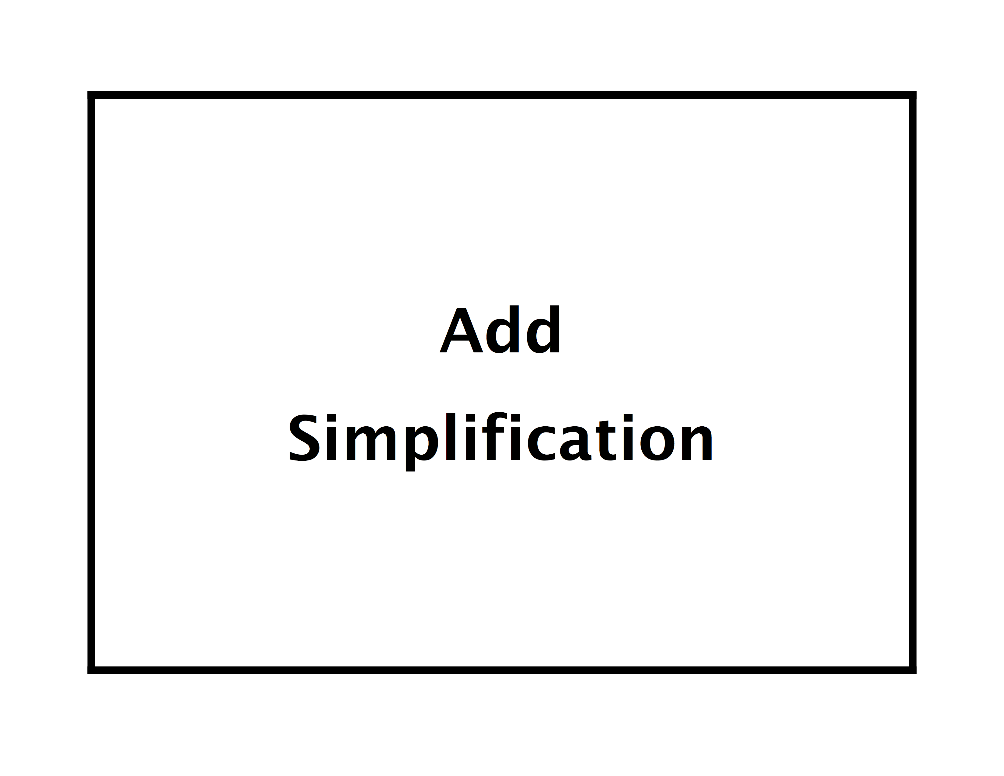 AddSimplification